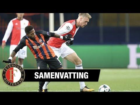 Samenvatting | Shakhtar Donetsk - Feyenoord