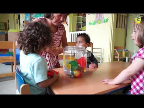 Visite De La Halte-garderie Les Bambinos à Faches Thumesnil