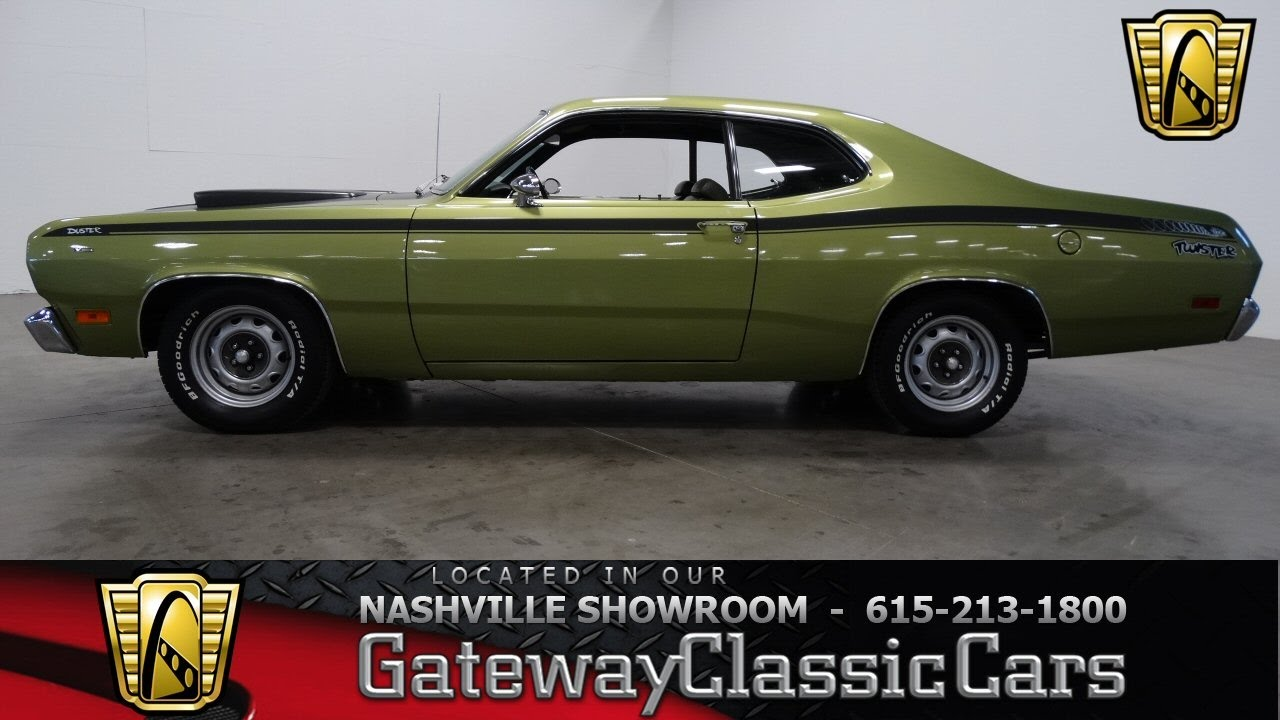 "1971 Plymouth Duster ""Twister"", Gateway Classic Cars ..."