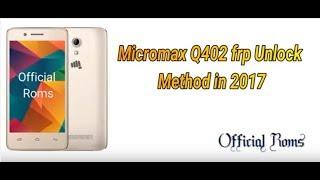 Micromax Canvas 1 Frp Remove Tool