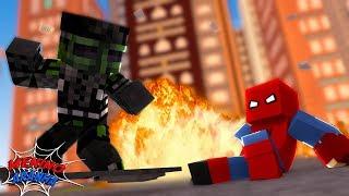 Minecraft: MENINO ARANHA - DUENDE ATACOU O NOVO HOMEM ARANHA! #64