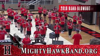 Mighty Hawk Band: 2018 Band Blowout