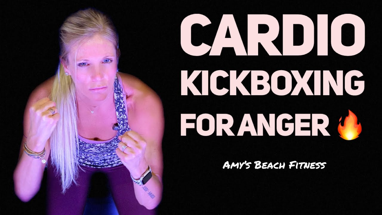 15 Minute Cardio Kickboxing to Reduce Feelings of Anger