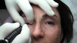 Tatuaj contur ochi permanent pret Zarescu Dan 0745001236 Arhiva 2004 http://www.machiajtatuaj.ro