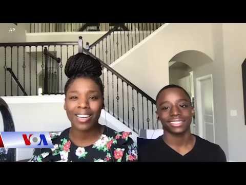 Bài hát tự sự của cậu bé da đen 12 tuổi 'khuấy đảo' mạng xã hội (VOA)