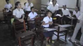 """Die vom deutschen Verein """"PROtectKids Kambodscha"""" betreuten Kinder grüssen ihre Paten"""