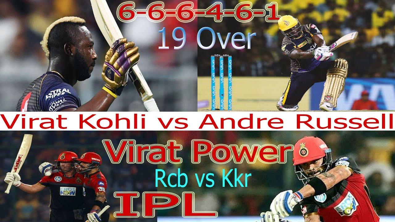 Kkr Vs Rcb Vivo IPL 2019 Highlights Match 17-Kohli, Andre ...