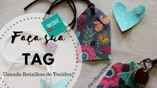 Faça Sua Própria Tag de Tecido - Fabielle Bacelar - Make Your Own Fabric Tag