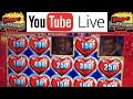LIVE CASINO PLAY + BIG WINS and BONUS Slot Machine FREE GAMES + Jackpot Progressives Videos