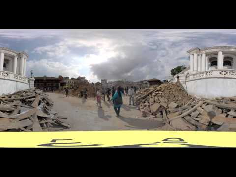 NEPAL EARTHQUAKE 360° video
