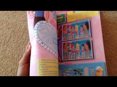 My new winx club stuff/magazines