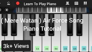 "Mere watan ye aqeedaten""National song by Sanwal Esakhelvi"" Piano tutorial on Perfect Piano."