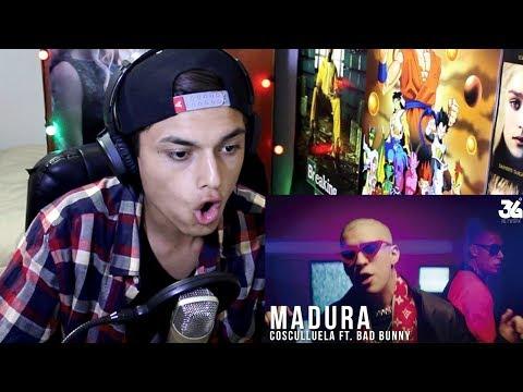 Cosculluela Ft. Bad Bunny - Madura (Video Oficial) Reaccion !
