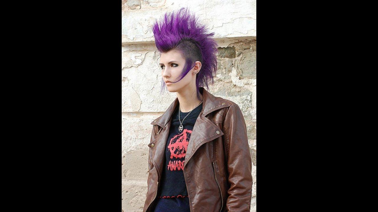 Punk Hairstyles For Women Stylish Punk Hair Youtube