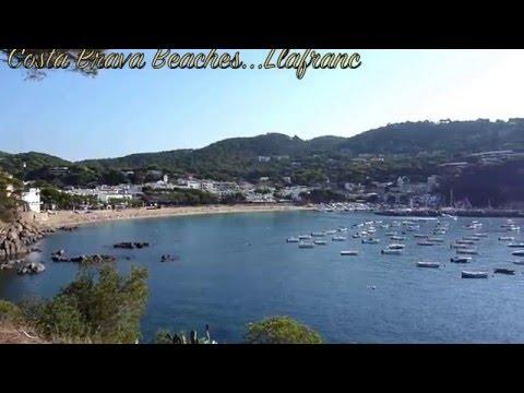 Costa Brava Beaches - Llafranc (panorama Of The Beach)