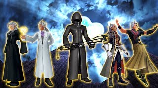Kingdom Hearts Cutscenes and battles w/ Xehanorts for my recording purposes (no mic)