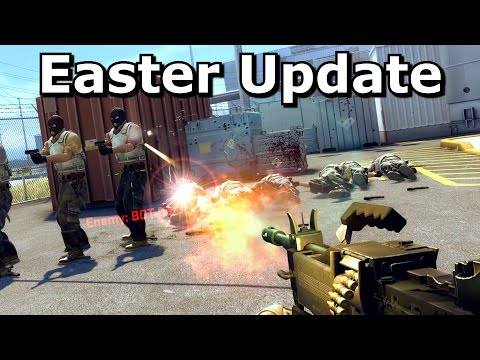 CS:GO's Easter 2017 Negev Update