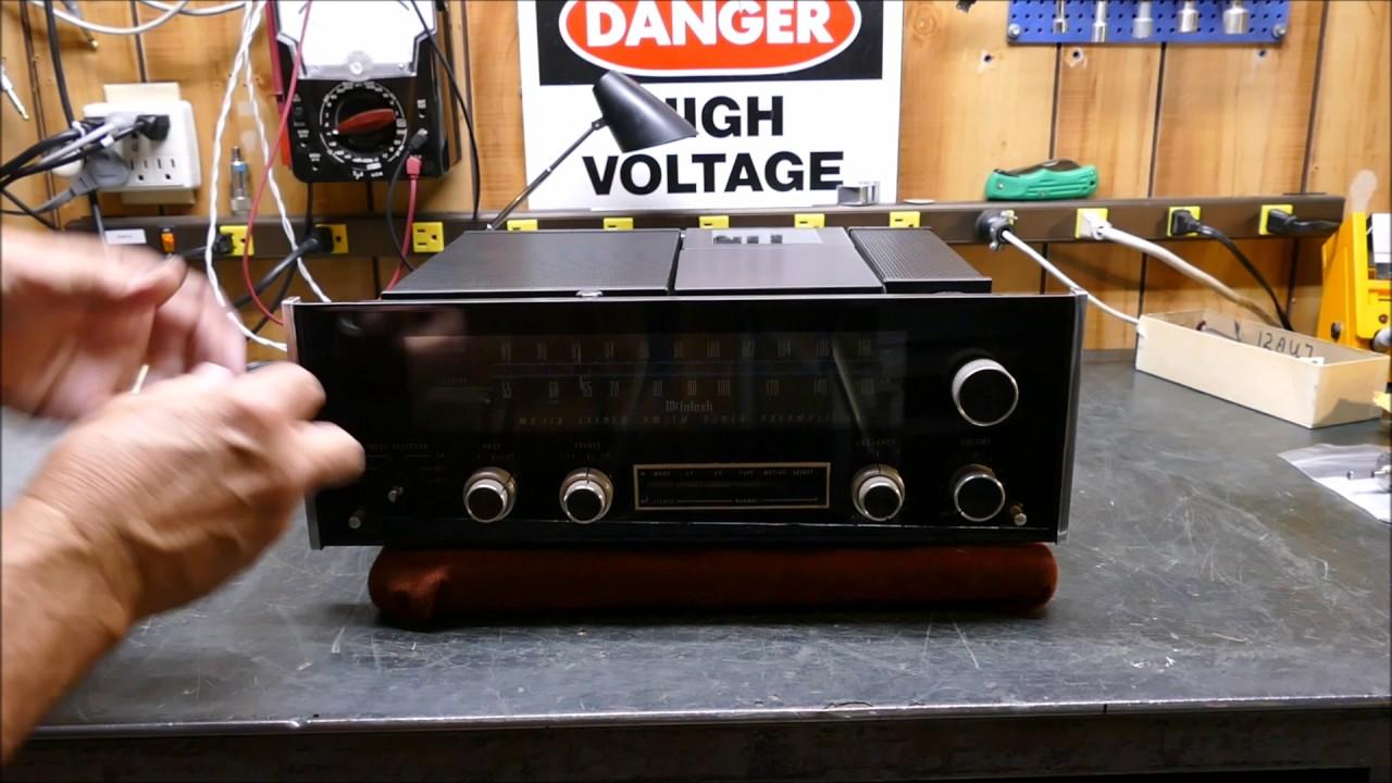 McIntosh MX 113 Tuner-Preamp Volume Control Replacement
