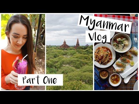 Vegan in Myanmar Travel Vlog - Part One