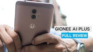 Gionee A1 Plus Review - Camera amp Battery Focus