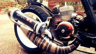Timelapse_Prepa Stunt MXS Racing 70cc