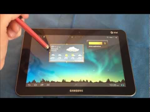 AT&T Samsung Galaxy Tab 8.9 4g LTE Review
