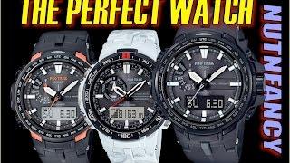 Most Impressive Outdoor Watch:  The JDM Casio PRW6000