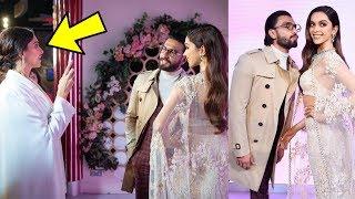 Omg ! Ranveer Singh's SHOCKING  reaction to wife Deepika Padukone's Statue |🙄