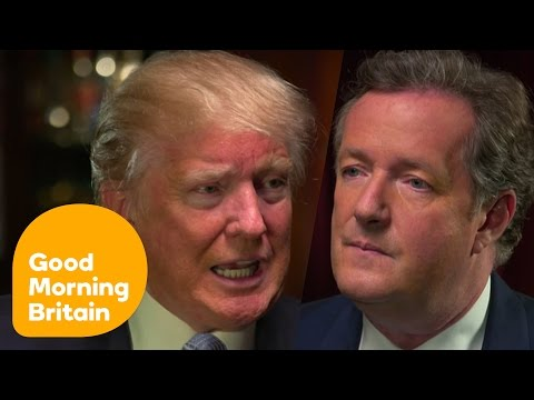Donald Trump's Most Controversial Moments With Piers Morgan | Good Morning Britain