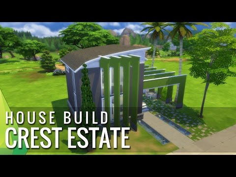 The Sims 4 Home Build - Crest Estate