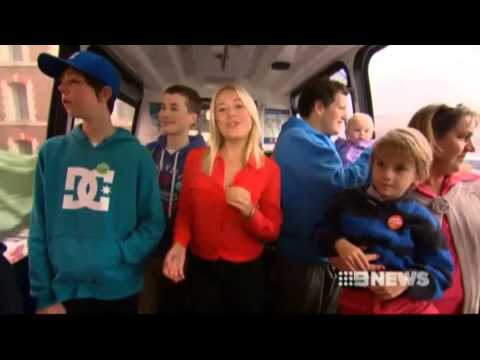 Nine News Sydney - Sydney Monorail last day of operation (30/6/2013)