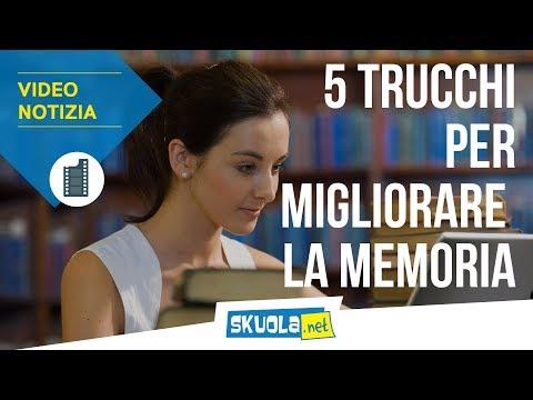 I 5 trucchi per migliorare la tua memoria!