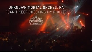 """Unknown Mortal Orchestra   """"Can't Keep Checking My Phone""""   Pitchfork Music Festival Paris 2015"""