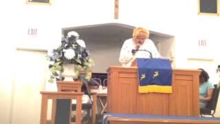 Minister Bertha Higgs