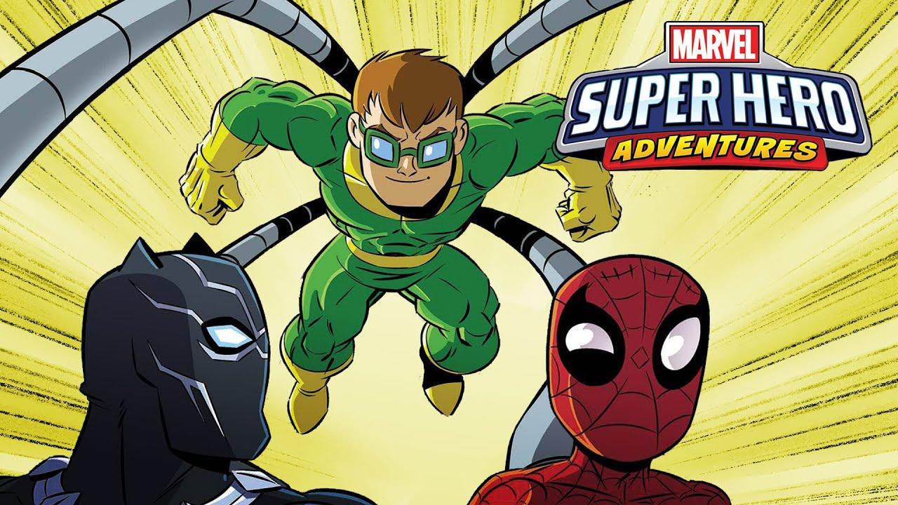 Marvel Super Hero Adventures: Spider-Man and the Stolen Vibranium | Marvel Read!