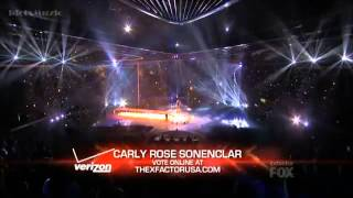 """Carly Rose Sonenclar sings """"Your Song"""" (The X Factor USA 2012 Semifinal)"""
