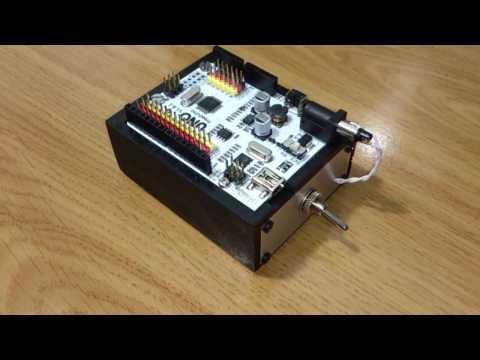 Homemade Arduino Case.