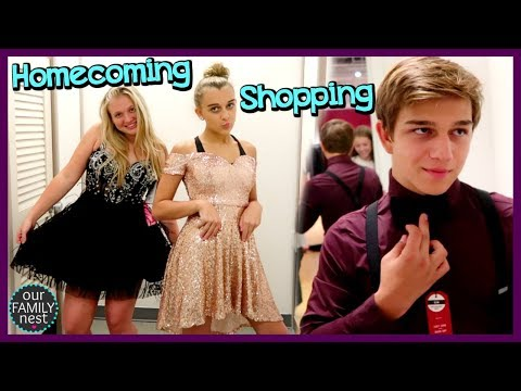 HOMECOMING FORMAL DRESS & OUTFIT SHOPPING!