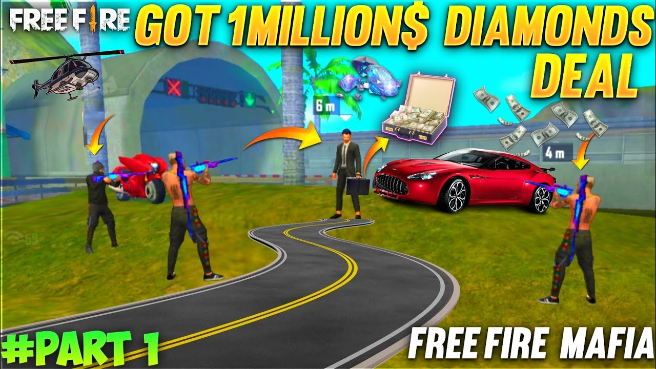 1 MILLION DIAMONDS DEAL - TO KILL DJ ALOK | GARENA FREE FIRE MAFIA - PART 1 #Totalgaming A_S Gaming