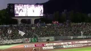 2015.06.28 第20節 FC岐阜対ザスパクサツ群馬 ヘニキ選手の同点ゴール!