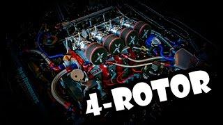 INSANE Sounding Mazda 4-Rotors!