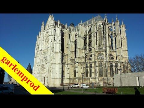 Beauvais Cathédrale et rénovations des quartiers