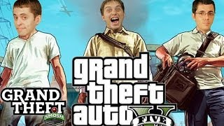 GRAB HIS SACK AND RUN (Grand Theft Smosh)