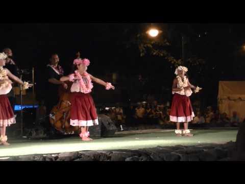 Hula performance by kids from Mokapu Elementary School