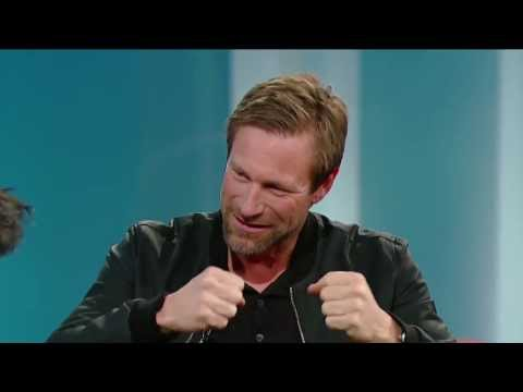 Aaron Eckhart on George Stroumboulopoulos Tonight: INTERVIEW