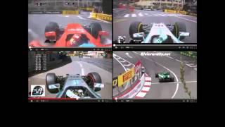 F1 2014 - Monaco GP - Onboard - Pure Sound
