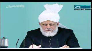 খুতবা জুমা  (Friday Sermon) 22 October 2010 Part 4/5