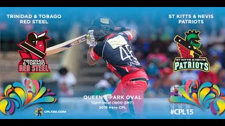 Game 27 highlights - Red Steel vs Patriots | #CPL15