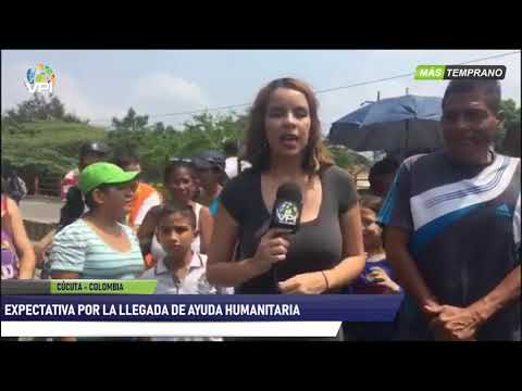 Venezuela - Personas en expectativa ante la llegada de la ayuda humanitaria - VPItv