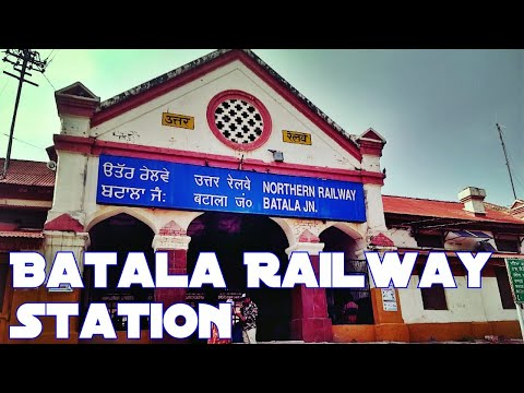 Batala Railway Station | Full View | Visit Punjab | Travel Punjab